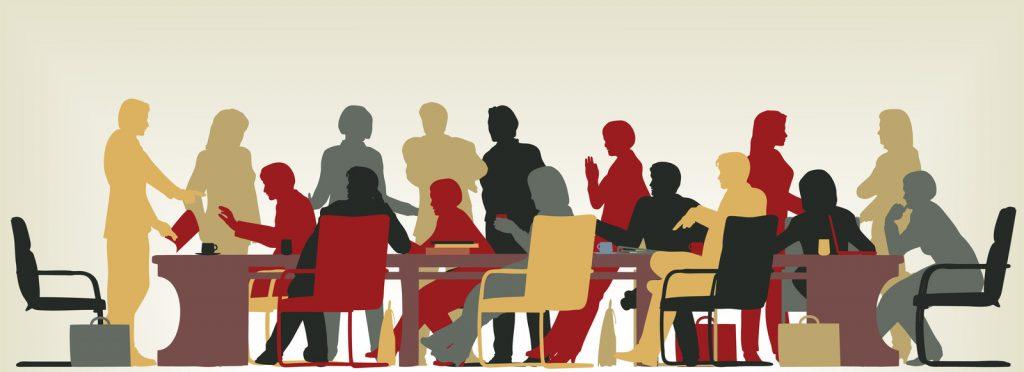 Meeting Room Illustration
